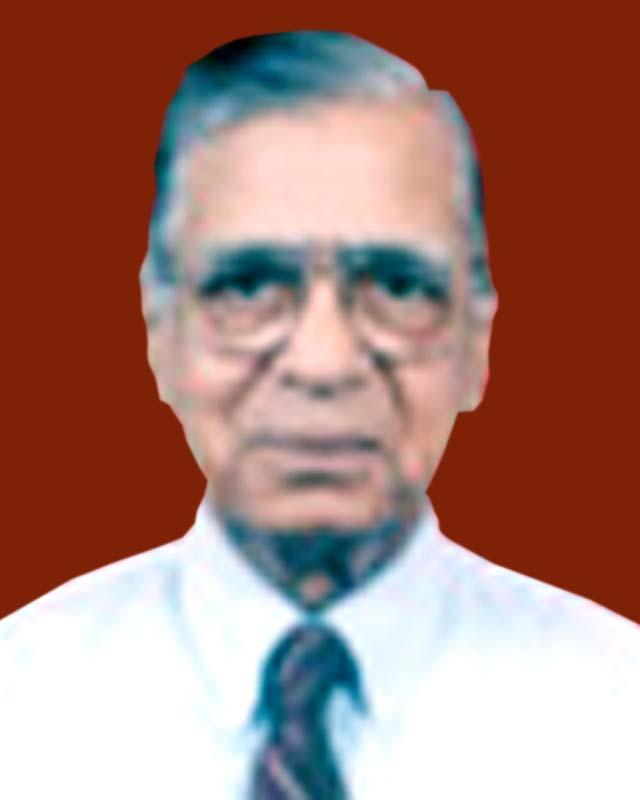 Late Dr Jugal Kishore